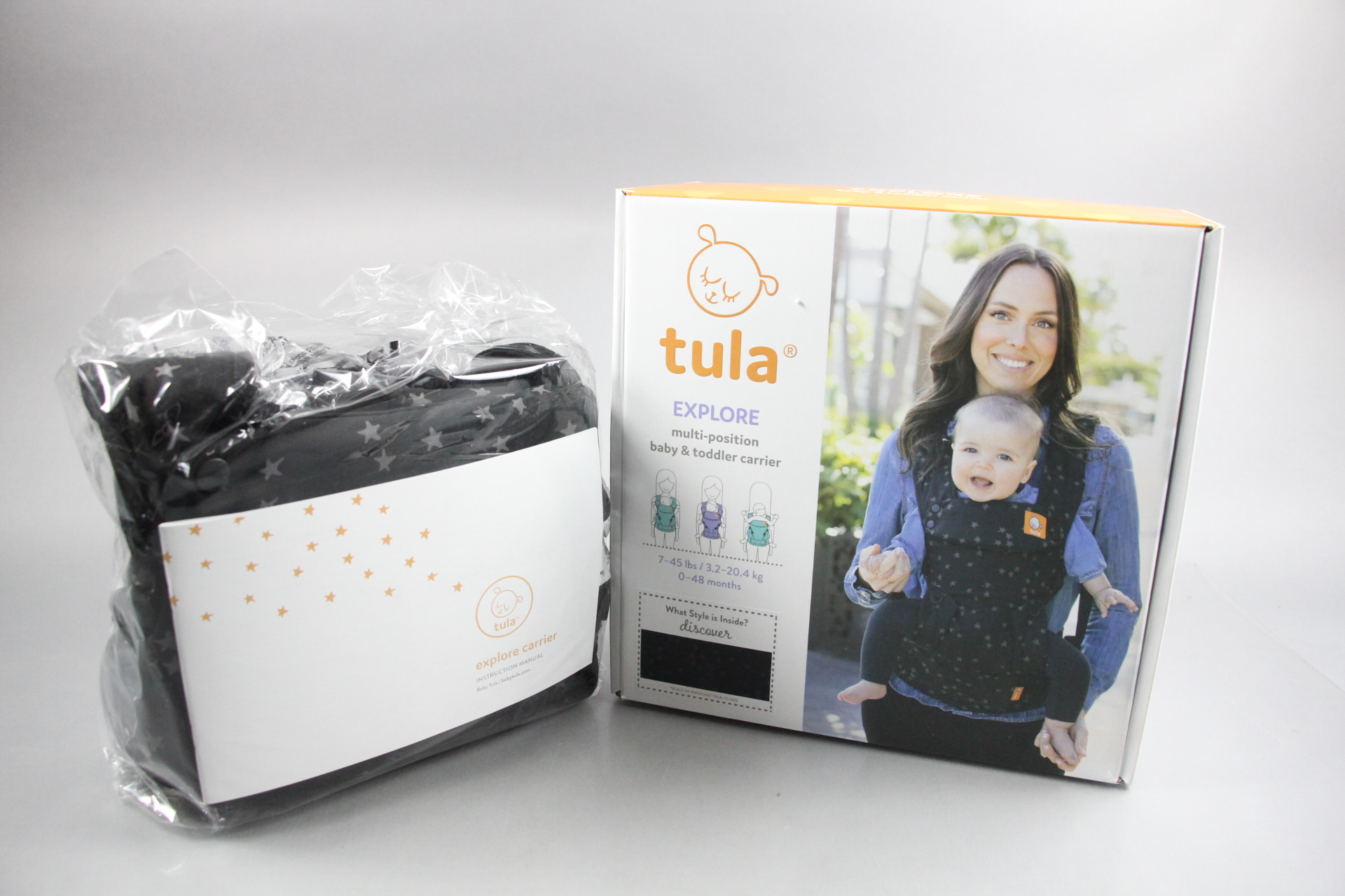 Tula Infant Carrier Instructions
