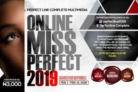Online Miss Perfect 2019 - Pawns