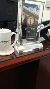 Top 100 Desk Plaque