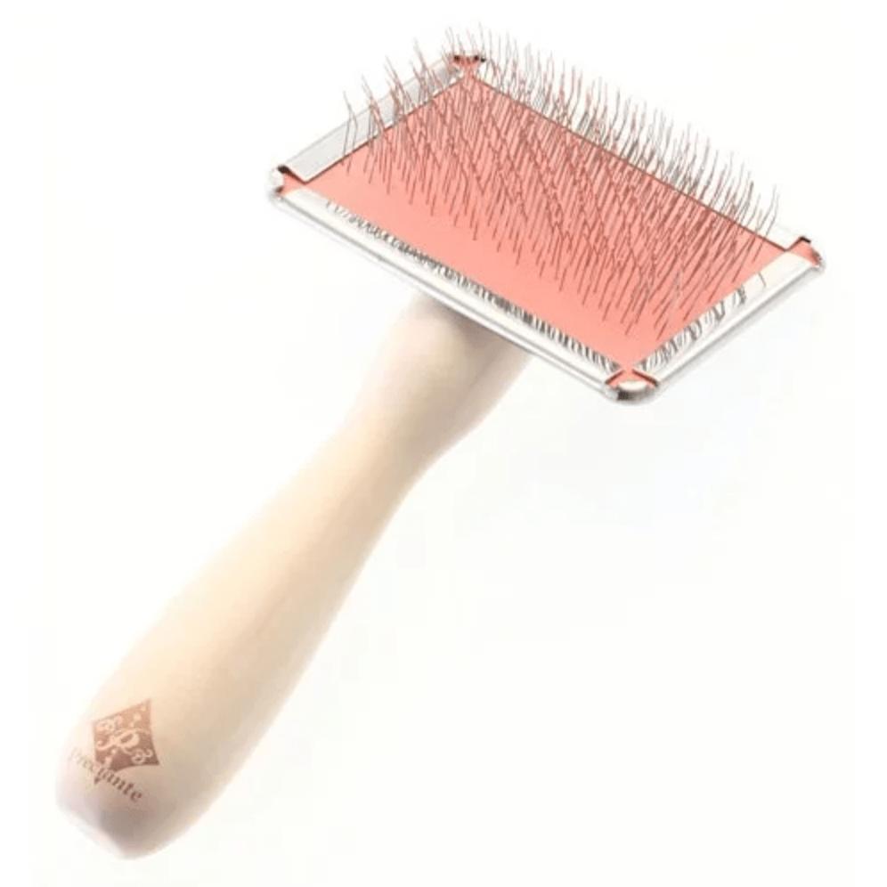 Preciante長毛貓犬專用有柄軟針梳(小)