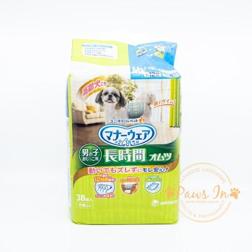 Unicharm 長時間用雄性高齡犬尿片 38枚 M