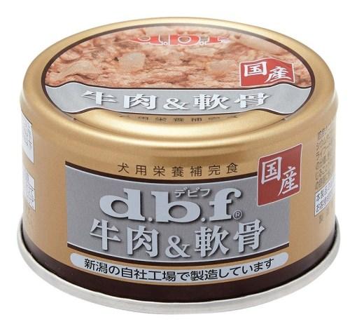 DBF 牛肉和軟骨 狗罐頭 85g