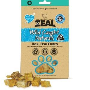 Zeal - 新西蘭貓狗小食-藍鱈魚肉粒 125g