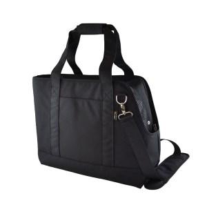 日本HappyDays 2way 手提寵物袋 (黑色)