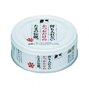 三洋 たま伝説 貓罐頭70g - 鰹魚純罐