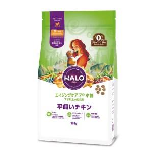 HALO 無穀物鮮鮮雞肉 老犬狗糧 小粒 900g (7歲以上)