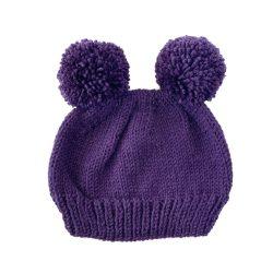 Purple Bear Hat