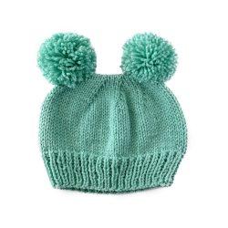 Mint Bear Hat