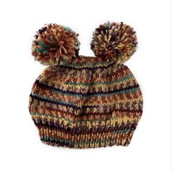 August Stripes Bear Hat
