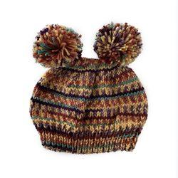 August Stripes Bear Hat