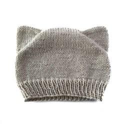 Linen Cat Hat