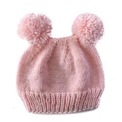 Light Pink Bear Hat