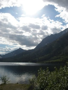 Glacier National Park - Photo taken just outside of a campground.