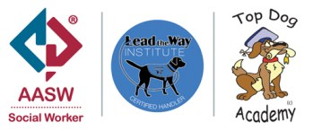 We are accredited with AASW Social Worker, Lead the Way Institute and Top Dog Academy
