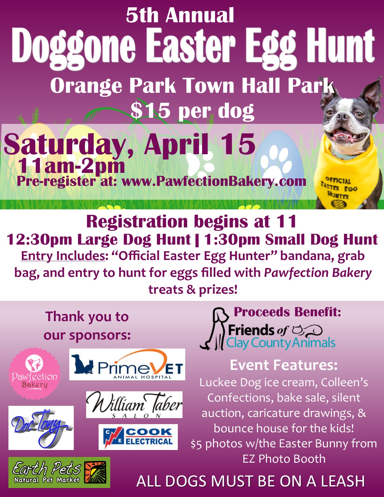The 5Th Annual Doggone Easter Egg Hunt