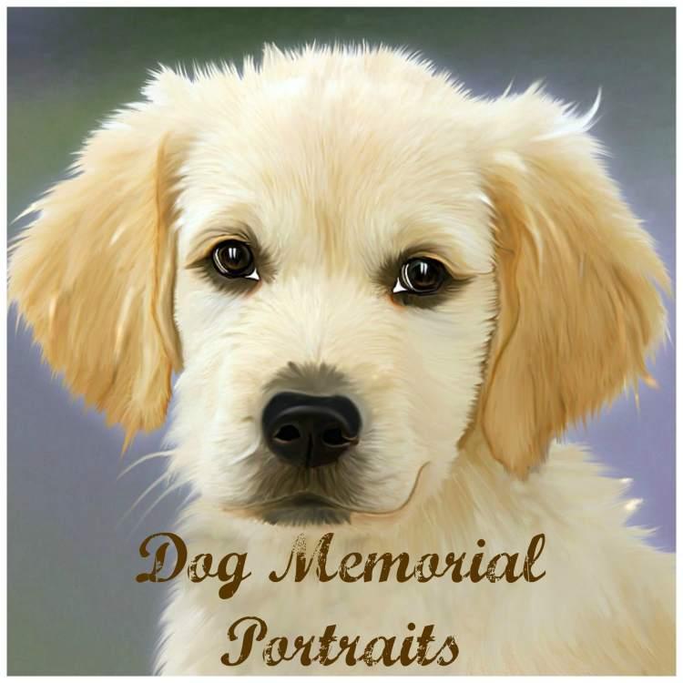 dog memorial portraits