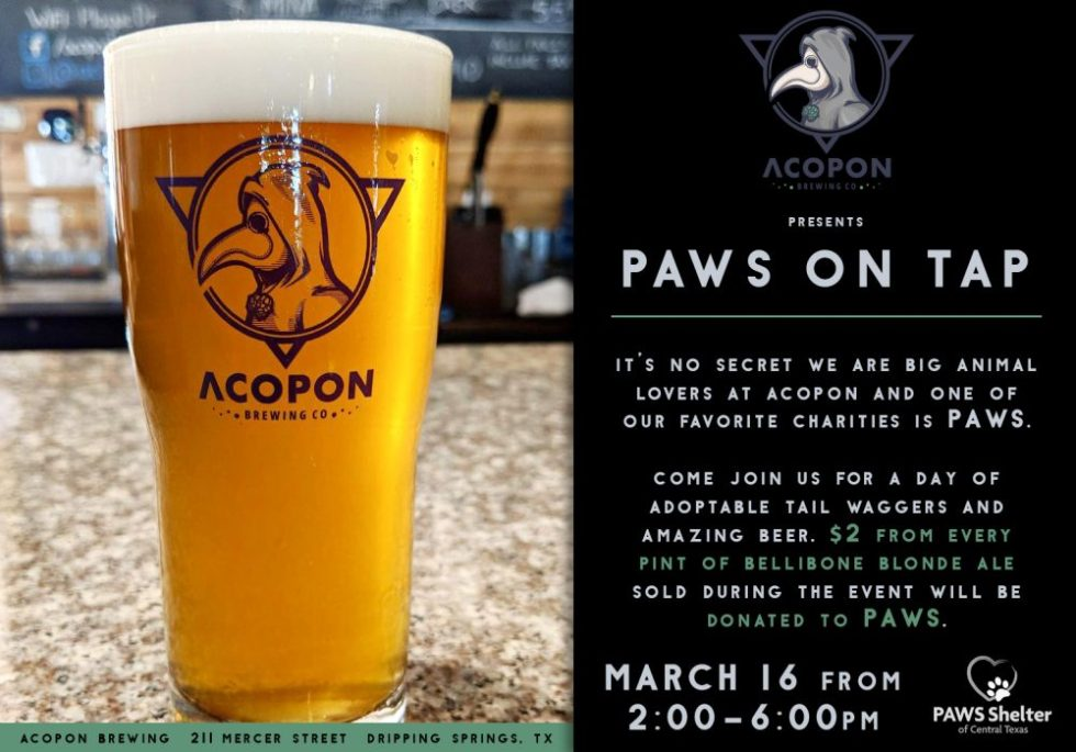 Acopon PAWS on Tap
