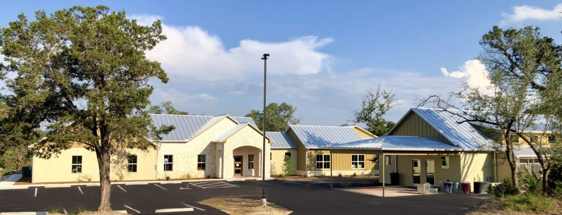New Dripping Springs Shelter