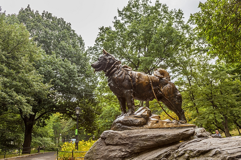 Commemorative monument of Balto