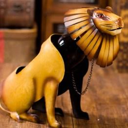 Lion Wine Bottle Holder