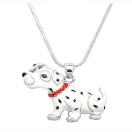 Dalmatian Dog Necklace