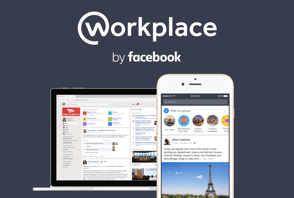Workplace by Facebook Unveiled a New Pricing Structure