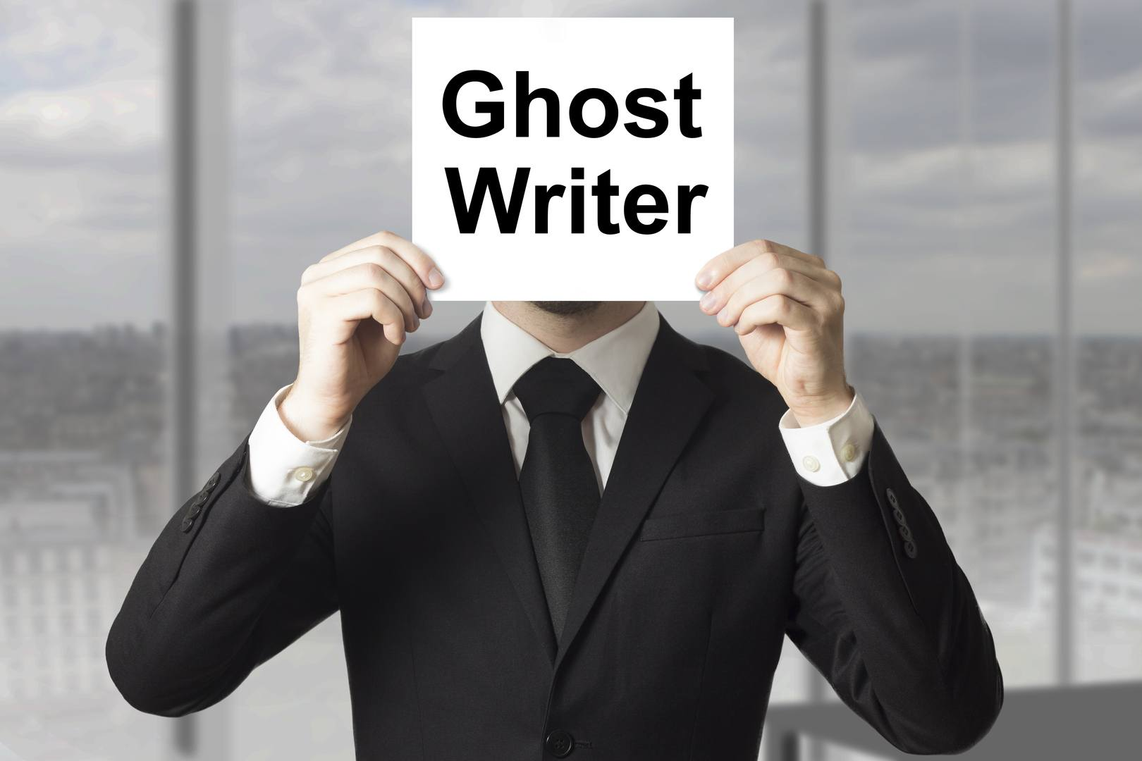 TOP 10 REASONS TO USE A GHOSTWRITER