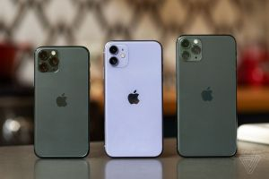 The Verge iPhone 11, 11 Pro, and 11 Pro Max