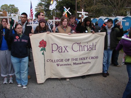 College of the Holy Cross Pax Christi chapter