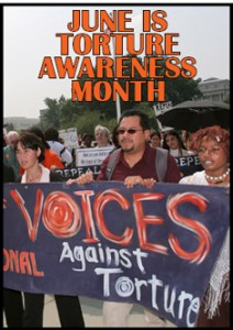 June is Torture Awareness Month