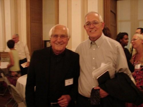 Bishop Gumbleton and Ruben Garcia at Momentum 2012