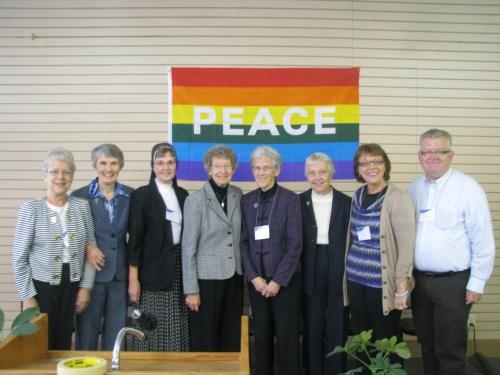 Members of the South Dakota Pax Christi conference team