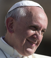 Pope Francis headshot