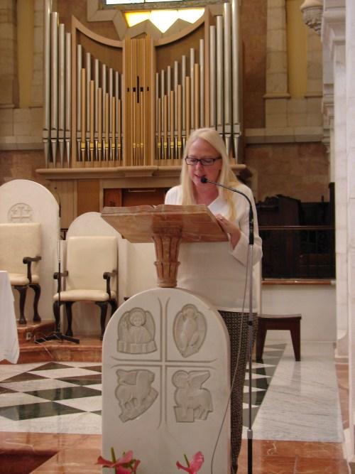 Margaretha Vanaerschot: Pax Christi International's Secretary General