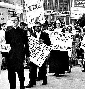 civil rights nun