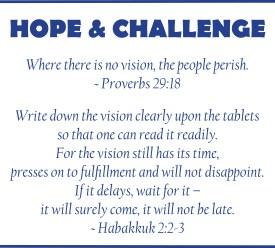 hope & challenge