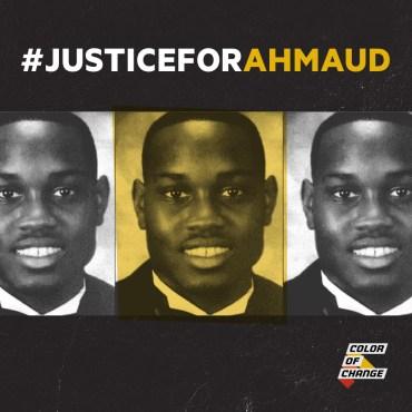 justiceforahmaud