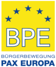 Bürgerbewegung PAX EUROPA e.V.