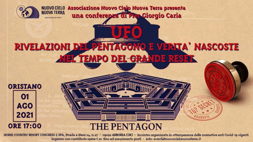 UFO rivelazioni del PENTAGONO e verità nascoste nel tempo del GRANDE RESET