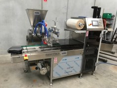 ITALIAN PACK Automatic in-line MAP and Skinpack Tray Sealer