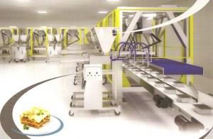 Automatic Lasagne Lines, Robots, Paxon Packaging