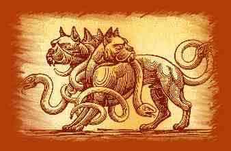 Cerbero, el can que guarda las puertas de Hades