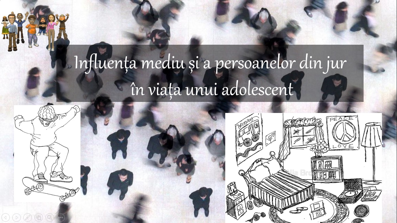 Influenta mediului asupra unui adolescent