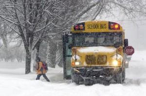 Pay4SchoolStuff.com Snowy School Bus