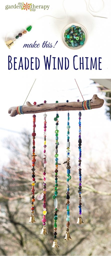 Bead Wind Chime Garden Therapy