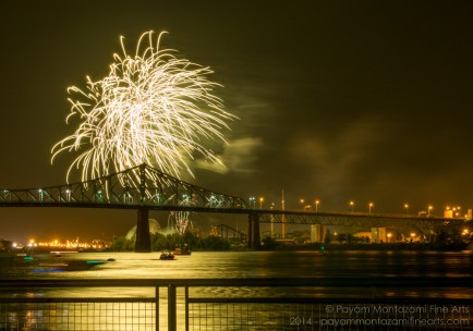 Montreal International Fireworks Competition 2014 Picture