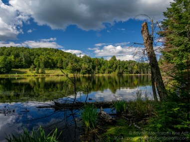 Landscape Photography at Blueberry Lake, Mont Tremblant