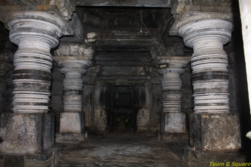Inside Lord Eshwara Temple