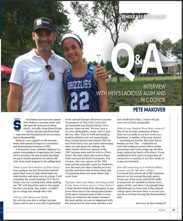 PSU Roar Magazine QnA