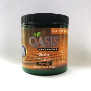 Oasis Kratom Powder - Gold